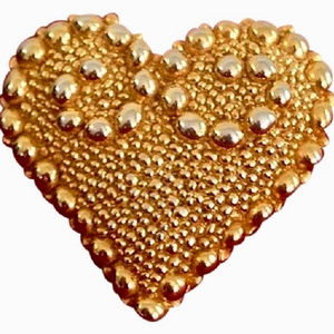 Christian Lacroix Iconic Heart Brooch